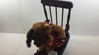 Grandma Got Run Over Reindeer Rocking Chair Dan Dee