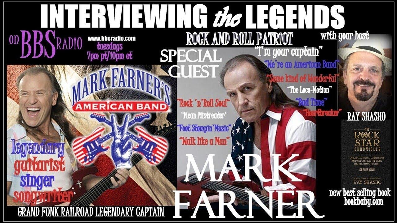 Mark Farner 'Rock Patriot' Grand Funk Railroad 'Captain'