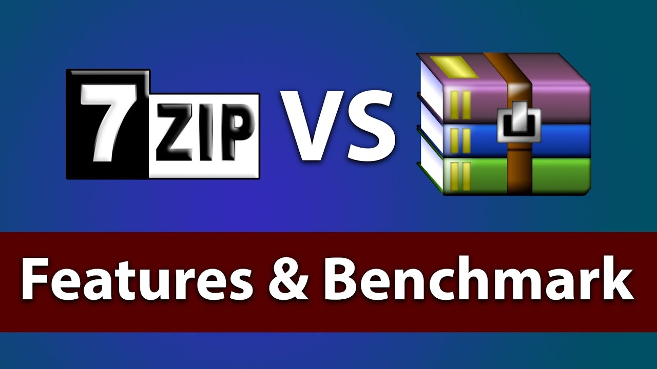 7Zip vs Winrar for Windows 10 | Features / Best ZIP Tool