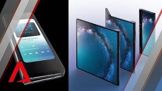 Foldable phones: Huawei Mate X vs Samsung Galaxy Fold