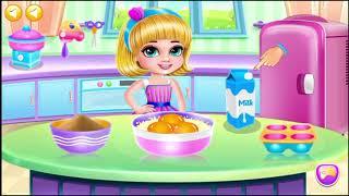 The Best Donut Ice Cream Kids Fun Game | Kids Cooking in Kitchen  | kids play cooking kitchen games