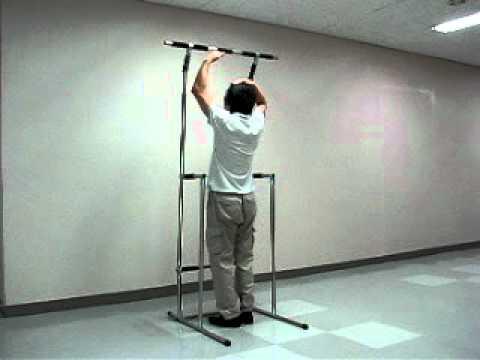 Anytube Tower Portable Push Pull Iron Gym Door Chinning