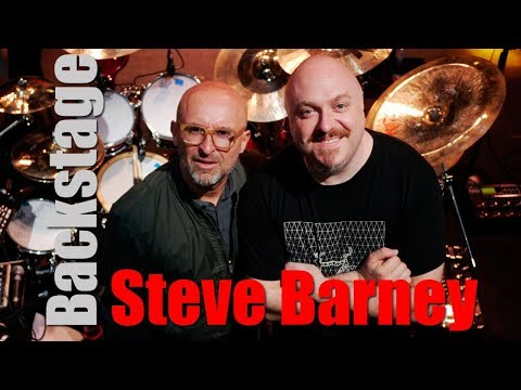Backstage with Steve Barney (Anastacia)