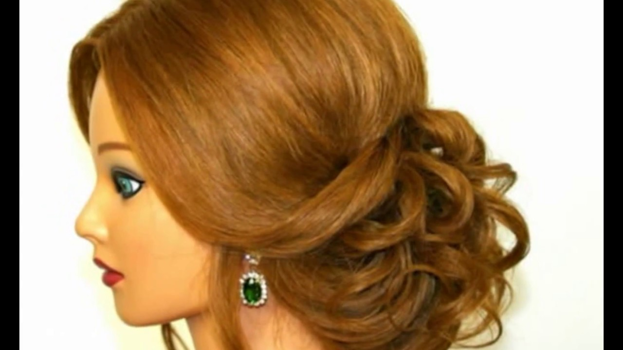 Latest Hair Style Design For Party Hair Style Design For Party Youtube