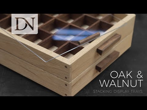 Stacking Display Trays – DIY Divided Collection or Tea Storage