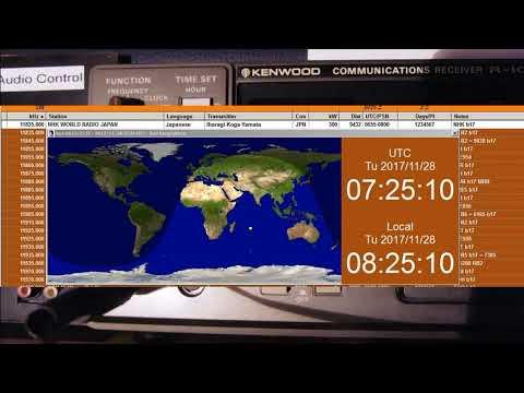 NHK World Radio Japan,2017 November 28, 07:25 UTC , 11825 kHz