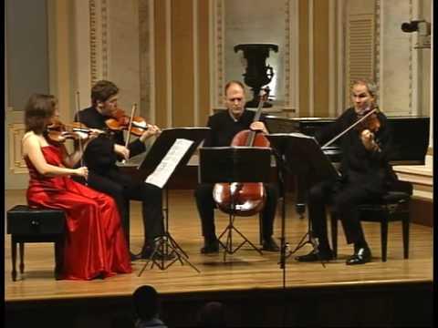 QUARTET CASALS. Beethoven op.133. 6-Grosse Fuge (1st part)