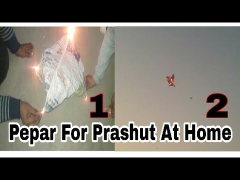 How to mak a flying pepar- (fire), Newspaper fire Flying - jash nice ||