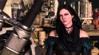 Ведьмак 3: Дикая Охота - Цири, Йен и Трисс об отметине Геральта
