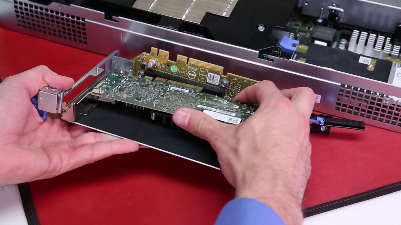 Dell Storage SC7000 Series: Remove/Install HBA (SIngle Riser)
