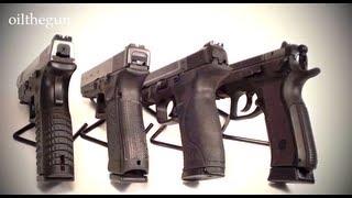 XDM vs Glock vs M&P vs CZ - 9mms