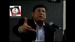 """Inminente detener la """"armonización"""" en los estados: CEND SNTE - Dr. Manuel Fuentes Muñiz"""