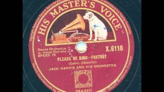 Jack Harris and his Orchestra - Please be kind