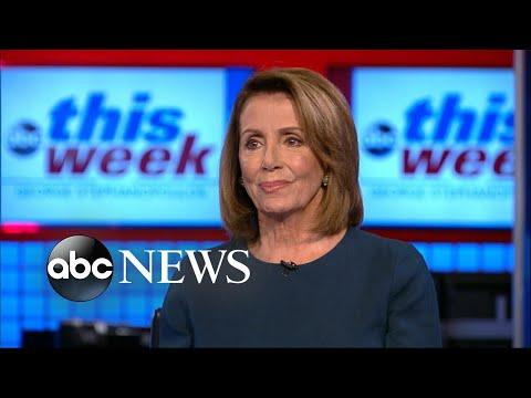 House Democratic Leader Pelosi says Pres. Trump went