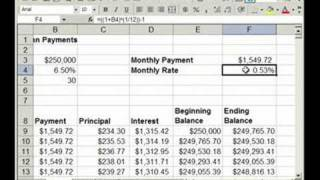 Mortgage Loan Constant Table - BuyerPricer.com