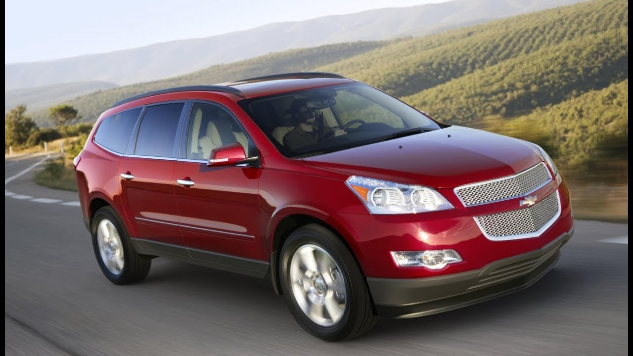 2011 Chevrolet Traverse Quick Tour and Test Drive - YouTube