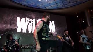 "Wilson ""College Gangbang"" Shiprocked Cruise 2014, NCL Pearl 1/27/14 live concert"