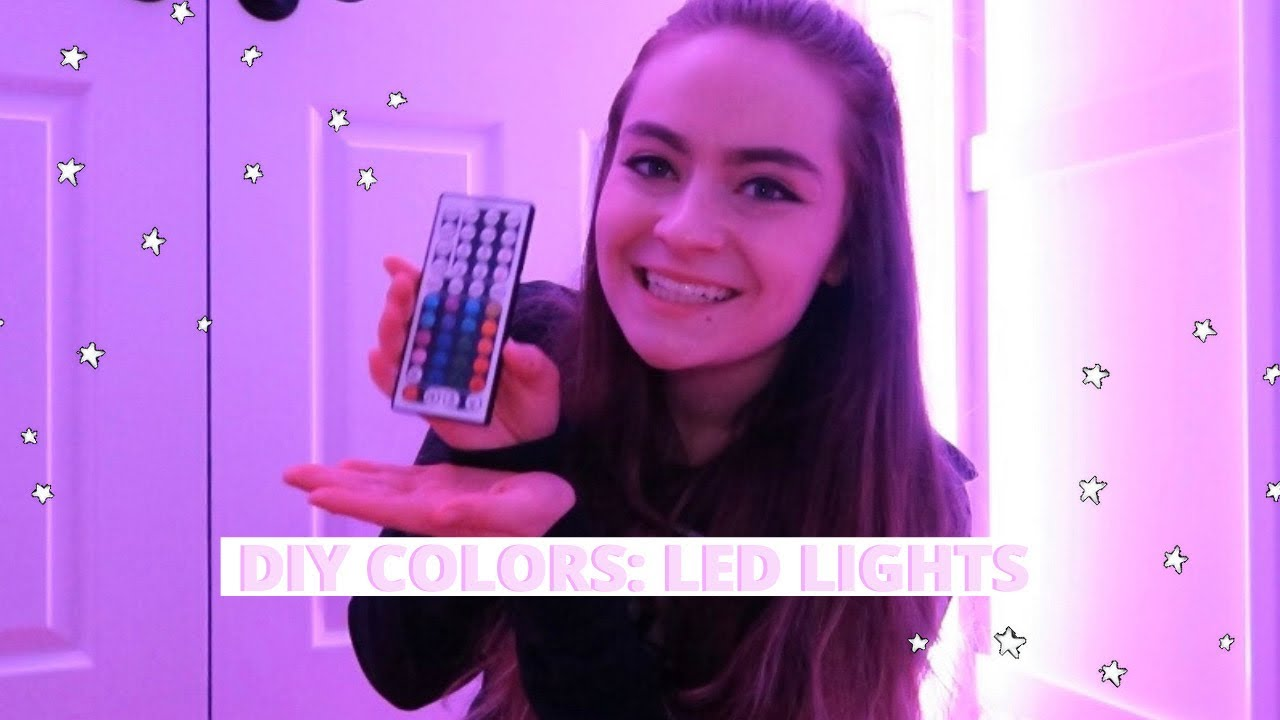 How To Make Diy Colors On Your Led Lights Youtube