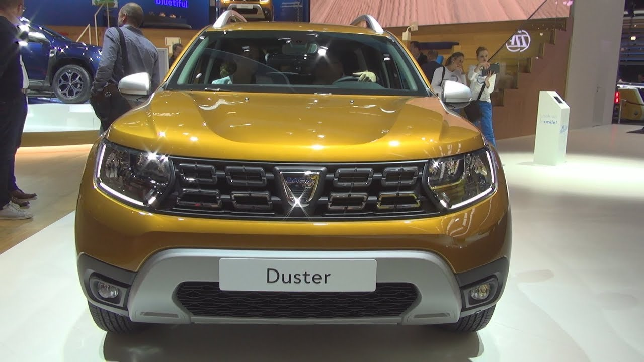 dacia duster prestige tce 125 4x4 92 2018 exterior and interior youtube. Black Bedroom Furniture Sets. Home Design Ideas
