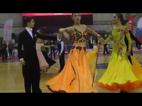 Бальные танцы Пермь - самые красивые бальные платья Стандарт Юниоры 2, Дуэт-2017