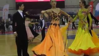 Бальные танцы Пермь - самые красивые бальные платья Стандарт Юниоры 2, Дуэт