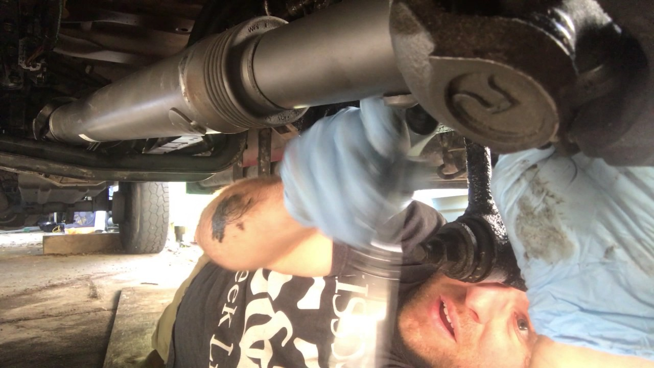 Installing Front Drive Shaft  1999 F350 Powerstroke  YouTube