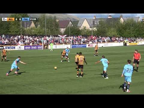 Alloa Falkirk Goals And Highlights