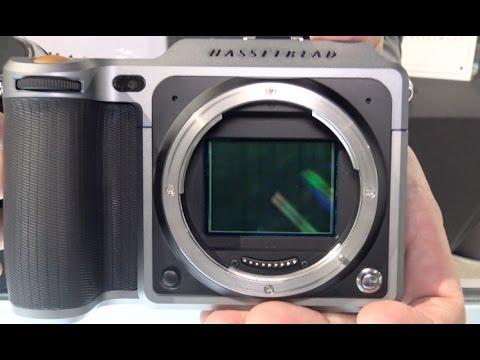 Hasselblad X1D-50c Medium Format 50MP Digital Camera demo @ LTS 2016