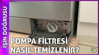Çamaşır Makinesi Pompa Filtresi Nasıl Temizlenir ?