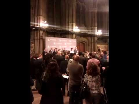 Labour speech announcing that the BNP lost their NW MEP seat