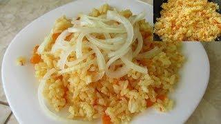 Как вкусно приготовить рис, чтобы рисинка к рисинке.