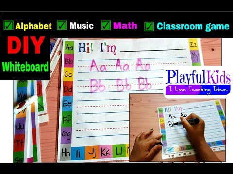 DIY Whiteboard + Printable Tempates -get your copy on the link below