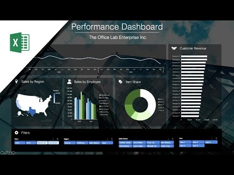 How To Build A Well-Designed And Interactive Excel Dashboard With Pivot Tables And Pivot Charts