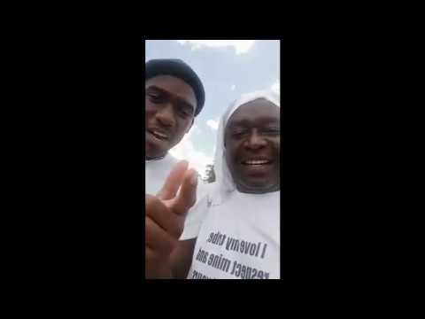 Ndebele Men Walk From Bulawayo To Harare (7 Dec 2018)