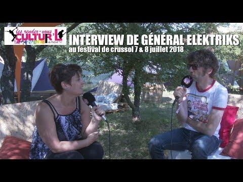 2018 07 07   RDV Cultur'L    avec General Elektriks au Crussol Festival
