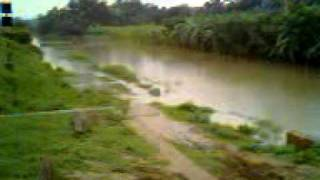 Ranaghat,Village(R.I.C COLONY) condition in rain,AUGUST-2011.