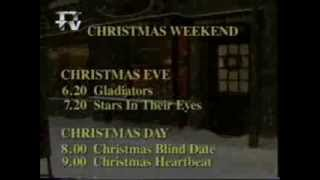 Christmas Eve and Christmas Day on ITV Tyne Tees 1994 trailer
