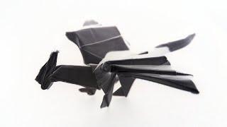 🐉 Origami Dragon Tutorial 🐉 - SimOrigamiArt