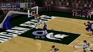 NCAA Final Four 2000 Gameplay Exhibition Match (PS1,PSX)