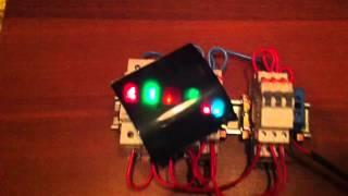 Сравнение свечение модульных лампочек от ИЕК, Legrand и ABB