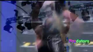 WWE Roman Reigns attack Brock Lesnar Payback 2017