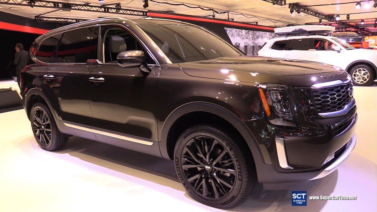 2019 Kia Telluride Sx V6 Exterior And Interior Walkaround 2019 New York Auto Show Youtube