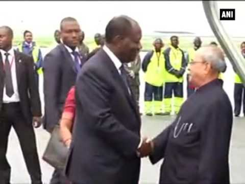 President Mukherjee arrives in Abidjan- ANI News