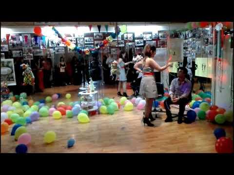 Fun Carnival Dancing 2018 - Karaoke ΝΤΑΛΚΑΣ Night - Σχολή Ιλίου