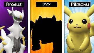 Minecraft Pokémon #39: EM BREVE ARCEUS, PIKACHU E MEU NOVO LENDÁRIO!