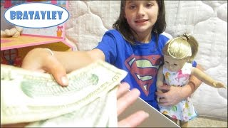 Buying An American Girl Doll With My Own Money (WK 187.2) | Bratayley