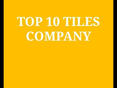 Top Tiles Companies In India 2020 Indiancompanies In