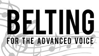 BELTING: Advanced Vocal Warm Ups | Free Voice Lessons with Cherish Tuttle