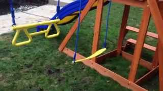 Backyard Discovery Providence  Swing Set Paradise By The Assembly Pros Nj Pa Ny De Md