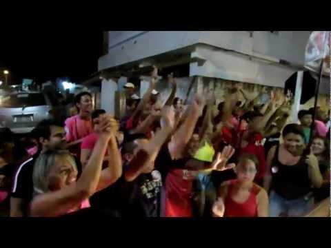Jaime Calado e Poti Neto recebidos com festa em Novo São Gonçalo